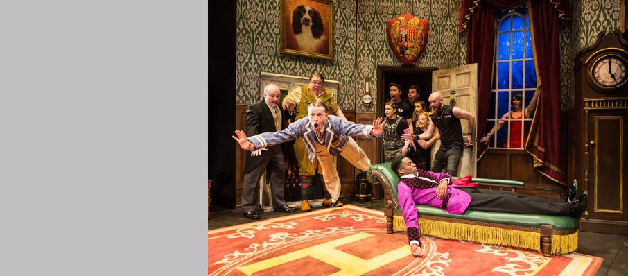 The Play That Goes Wrong, Duchess Theatre, Leeds