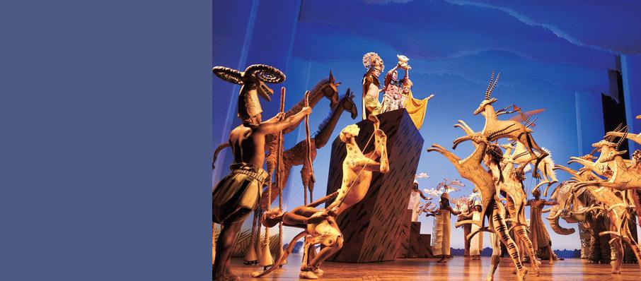 Lion King, Lyceum Theatre, Leeds